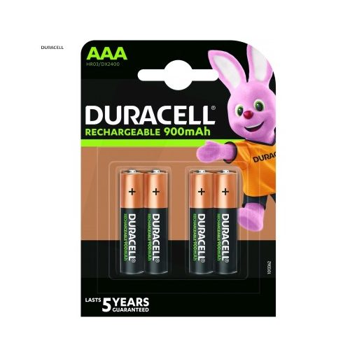 Duracell Akkumulátor Mikro 900mAh R2U AAA B4