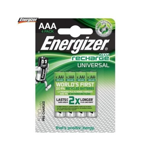 Energizer Akkumulátor Universal Mikro 500mAh Ni-Mh AAA B4