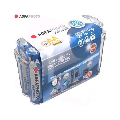 AgfaPhoto Alkáli Platinum Ceruza Elem AA B12