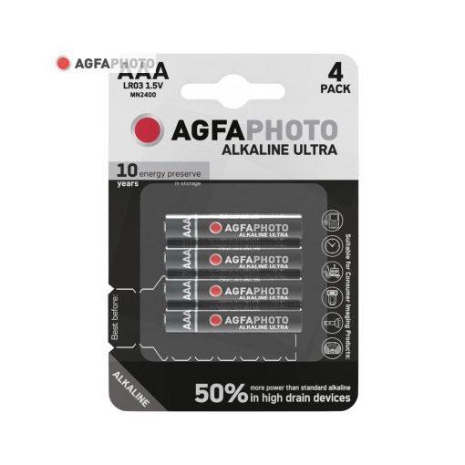 AgfaPhoto Ultra Alkáli Mikro Elem AAA B4
