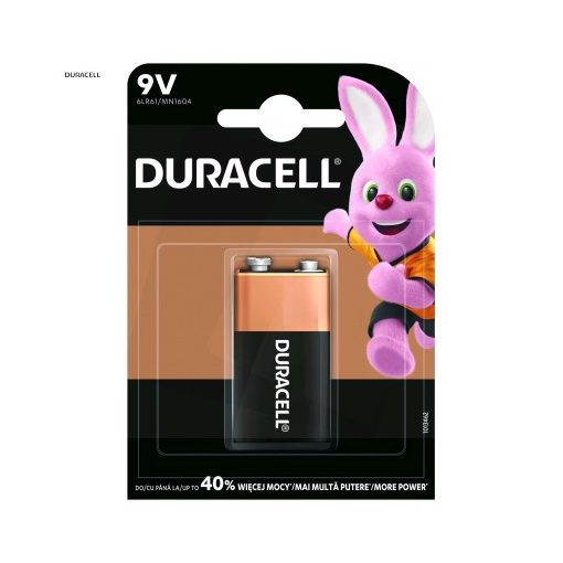 Duracell Basic Alkáli Elem 9V B1