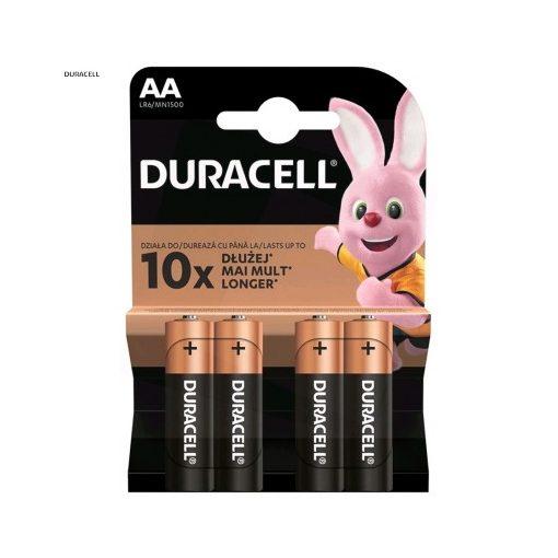 Duracell Basic Alkáli Ceruza Elem AA B4