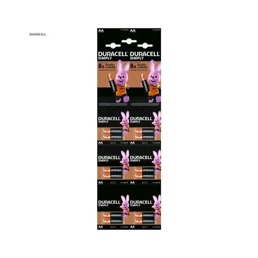 Duracell Basic Alkáli Ceruza Elem AA Kartella B6X2