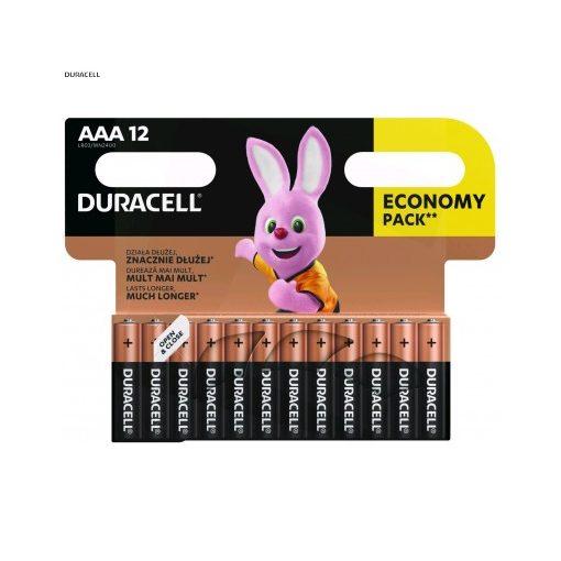 Duracell Basic Alkáli Mikro Elem AAA B12