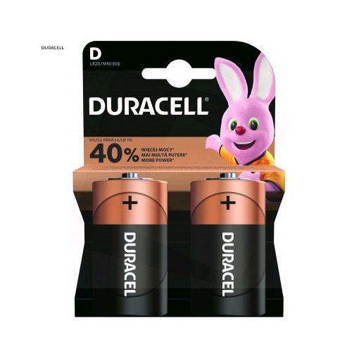 Duracell Basic Alkáli Góliát Elem D B2