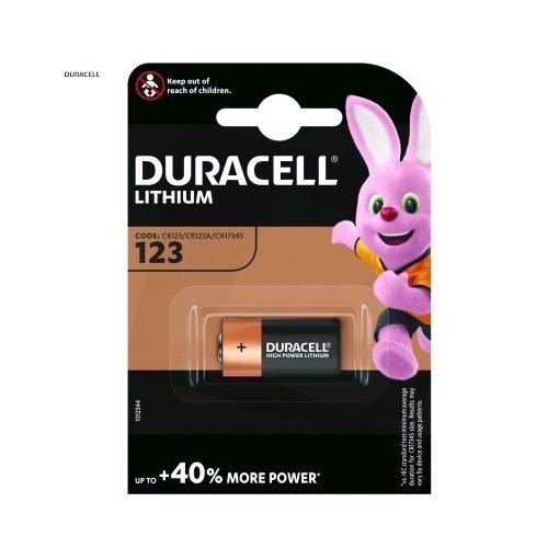 Duracell Fotóelem Lítium CR123A B1