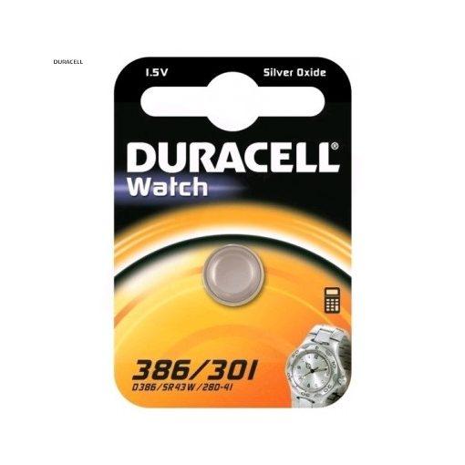 Duracell Gombelem Ezüst-Oxid 386/301 B1
