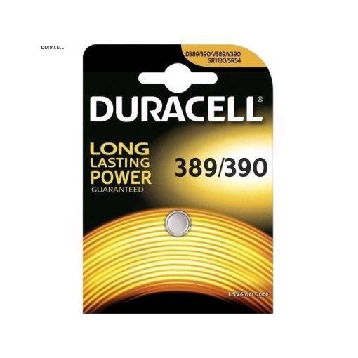 Duracell Gombelem Ezüst-Oxid 389/390 B1