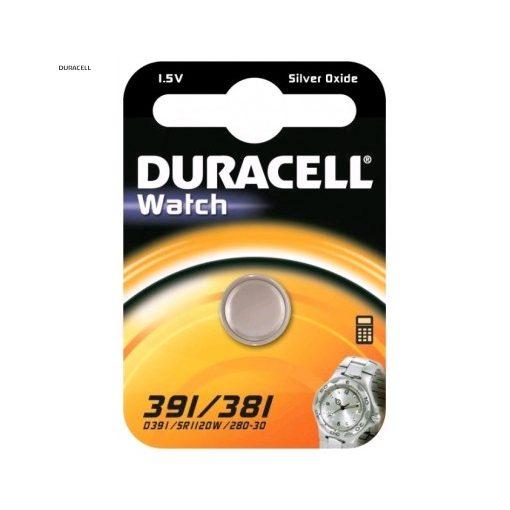 Duracell Gombelem Ezüst-Oxid 391/381 B1