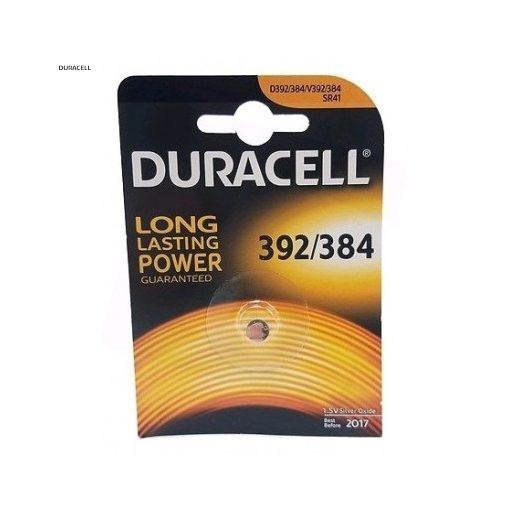 Duracell Gombelem Ezüst-Oxid 392/384 SR41 B1