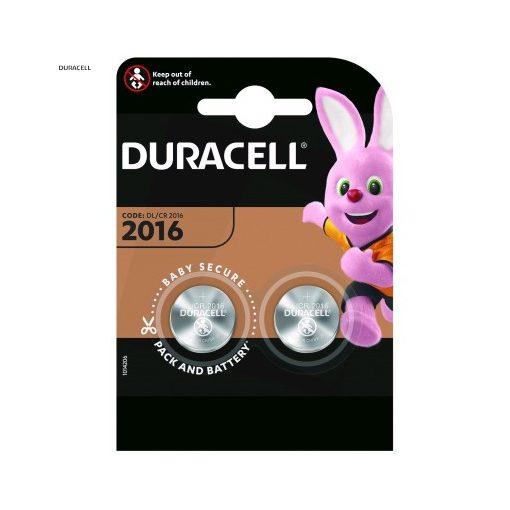 Duracell Gombelem Lítium CR2016 B2