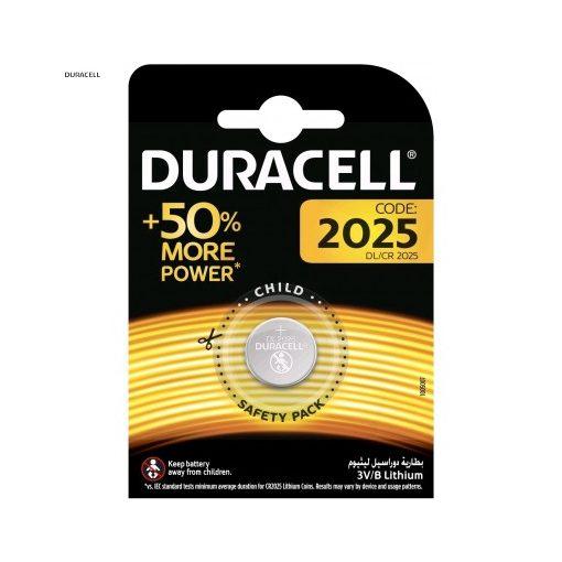 Duracell Gombelem Lítium CR2025 B1