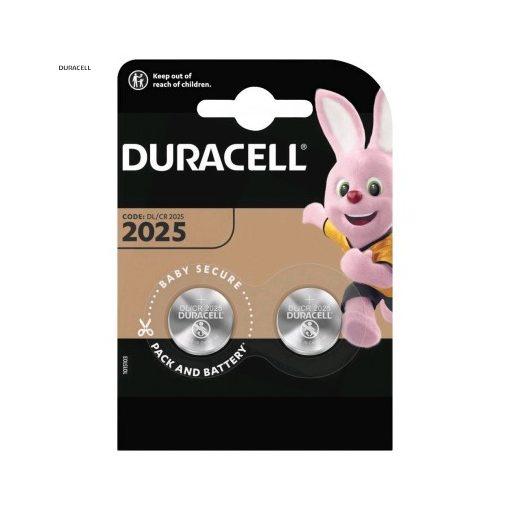 Duracell Gombelem Lítium CR2025 B2