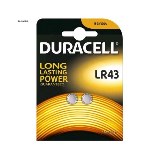 Duracell Gombelem Alkáli LR43 B2