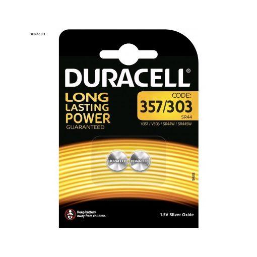 Duracell Gombelem Ezüst-Oxid 357/303 SR44 B2