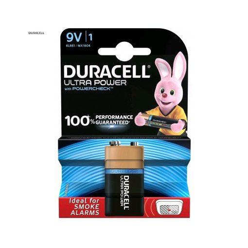 Duracell Ultra Alkáli 9V Elem B1