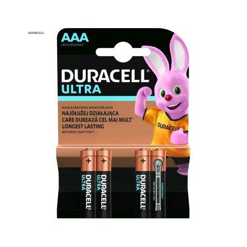Duracell Ultra Alkáli Mikro Elem AAA B4