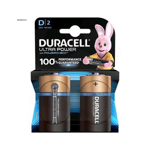 Duracell Ultra Alkáli Góliát Elem D B2