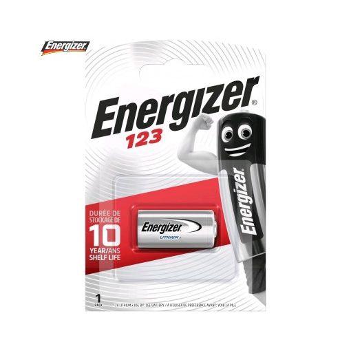 Energizer Líthium Fotóelem CR123A B1