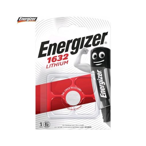 Energizer Gombelem Lítium CR1632