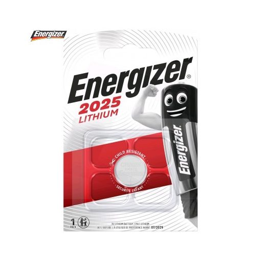 Energizer Gombelem Lítium CR2025 B1