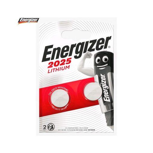 Energizer Gombelem Lítium CR2025 B2