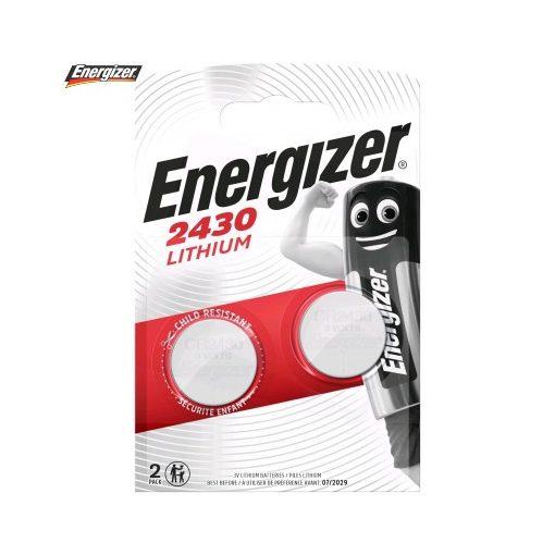 Energizer Gombelem Lítium CR2430 B2
