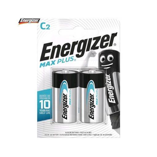 Energizer Max Plus Alkáli Baby Elem C B2