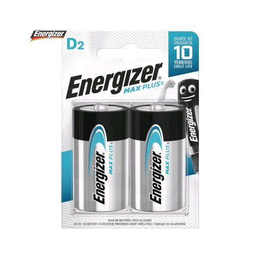 Energizer Max Plus Alkáli Góliát Elem D B2