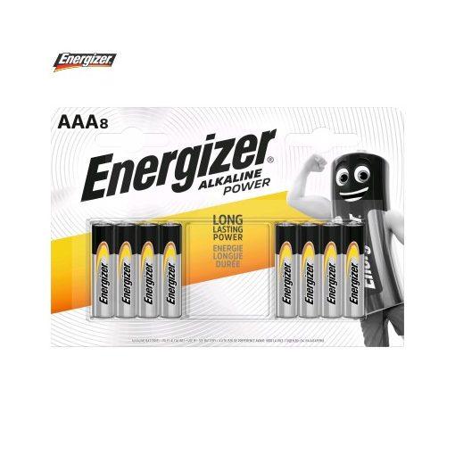 Energizer Power Alkáli Mikro Elem AAA B8