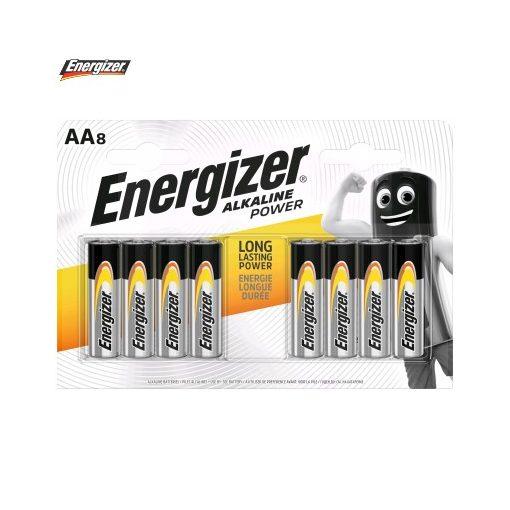 Energizer Power Alkáli Ceruza Elem AA B8