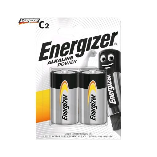 Energizer Power Alkáli Baby Elem C B2