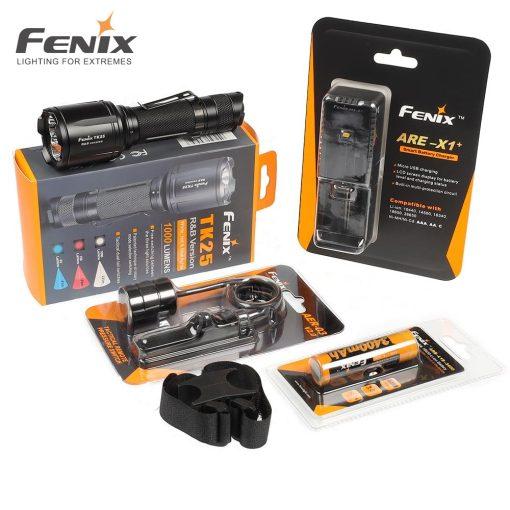 Fenix Light Elemlámpa Szett TK25Red LED 1000lumen