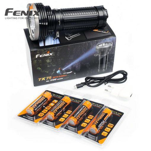 Fenix Light Elemlámpa Szett TK75 2018 LED     5100lumen