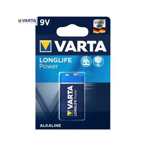 Varta Longlife Power Alkáli 9V Elem B1