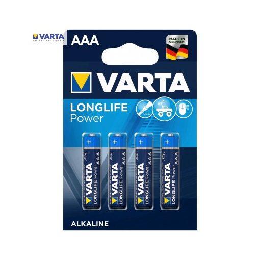 Varta Longlife Power Alkáli Mikro Elem AAA B4